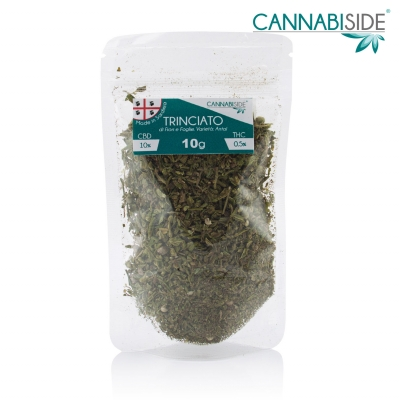 Antal Trinciato di Fiori e Foglie Cannabis Legale 10g