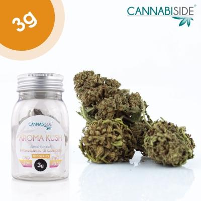 Aroma Kush Infiorescenza Top Senza Semi di Cannabis Legale 3g
