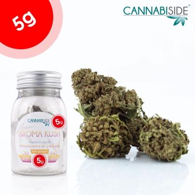 Aroma Kush Infiorescenza Top Senza Semi di Cannabis Legale 5g