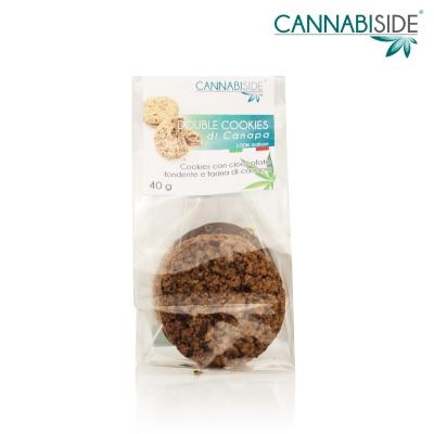 Biscotti alla Canana con cioccolato. Fatti con Farina di Cannabis Sativa Selezionata. I Biscotti all'erba light sono qui. Acquistali subito online