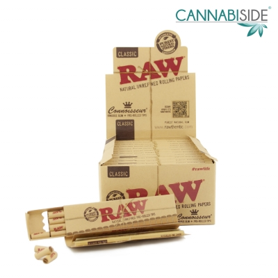 Box Cartine Raw con Filtro Pre Rollati Pacco 32pz