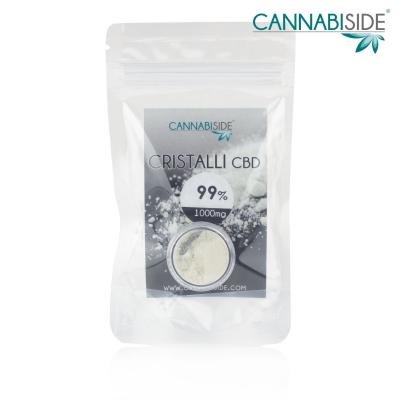 CBD Cristalli 1000 mg Puri 1 Grammo di Cannabidiolo