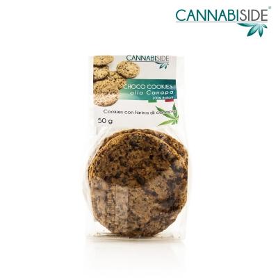 Choco Cookies alla Canapa. I Biscotti fatti con farina di canapa e cioccolato più famosi del web !!!