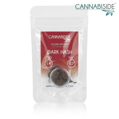 Dark Hash Polline Pressato di Cannabis Sativa