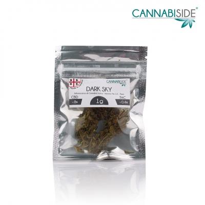 Dark Sky Infiorescenza di Cannabis Legale 1g