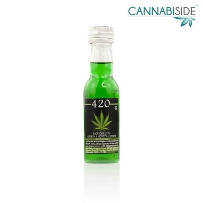 Grappa Cannabis con semi di Canapa - 30ml