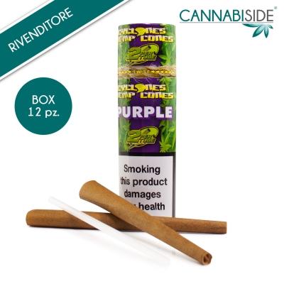 Hemp Cone Purple Conf. 12 pz