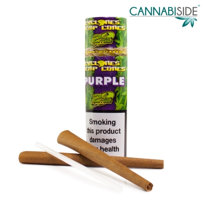 Hemp Cone Purple