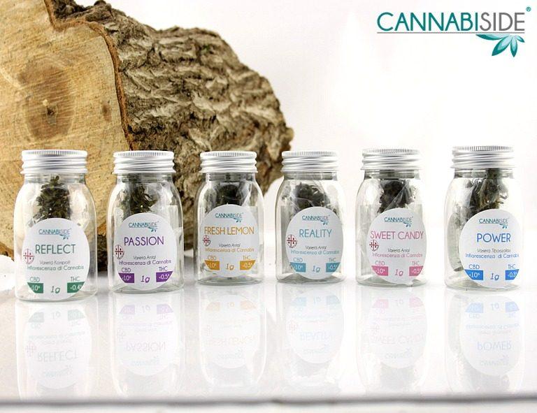 Hemp Flower Products from Cannabis Sativa Plants