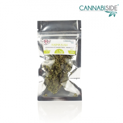 Karma Kush Infiorescenza di Cannabis Legale Economy 1,5 g