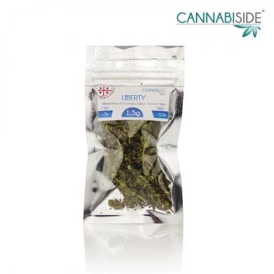 Liberty Infiorescenza di Cannabis Legale Economy 1,5 g