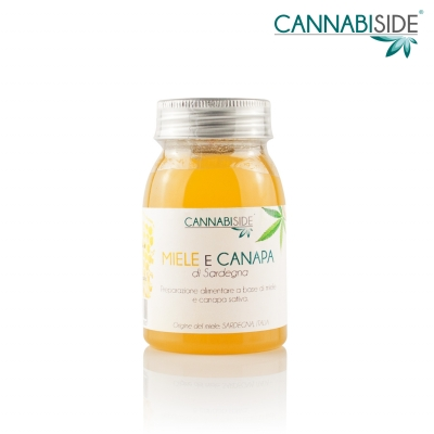 Miele Insaporito alla Cannabis 150 g