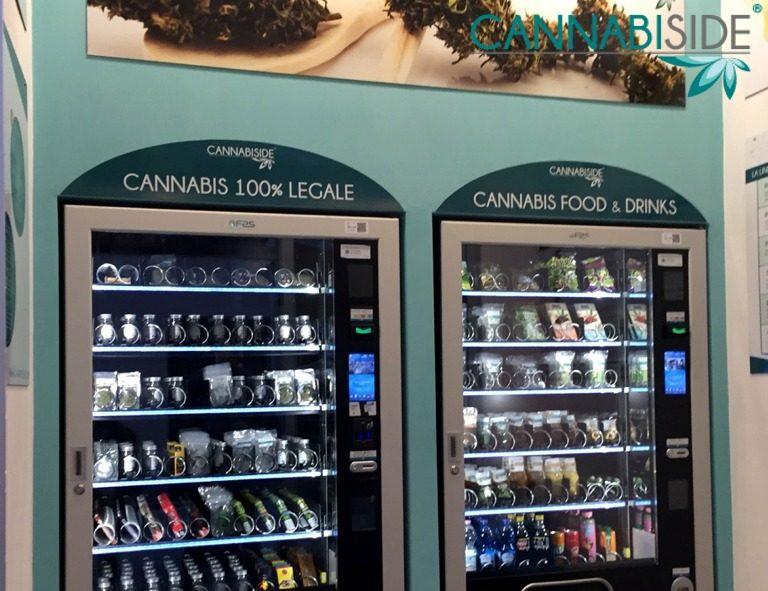 One Snap of Cannabis Shop Vending Machine