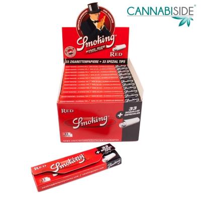 Smoking Red Cartine King Size + Filtri