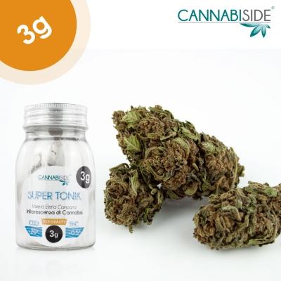 Super Tonik Infiorescenza Top Senza Semi di Cannabis Legale 3g