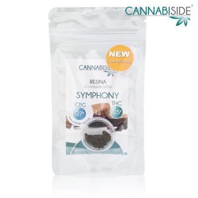 Symphony - Resina di Cannabis CBG 1g