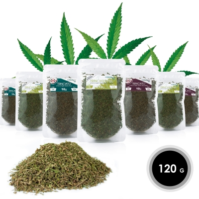 Trinciato Mix - Trinciato di Fiori e Foglie di Cannabis 120 g
