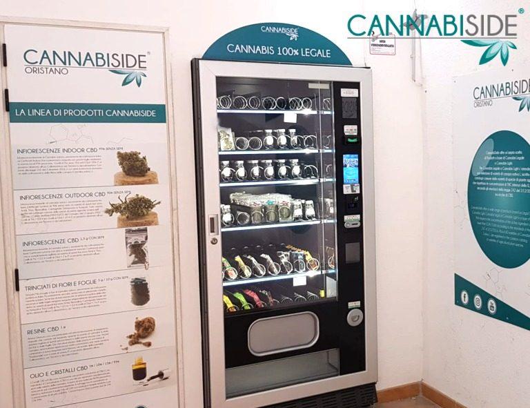 Vending Machine of Legal Hemp Products in Affiliate